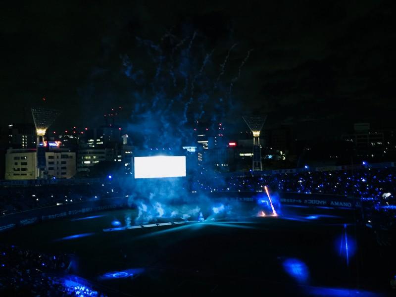 2018.8.19ハマスタ花火1