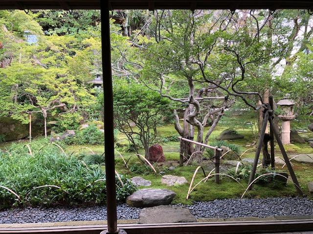 写真8 2018.10.23mk 土間からみた庭
