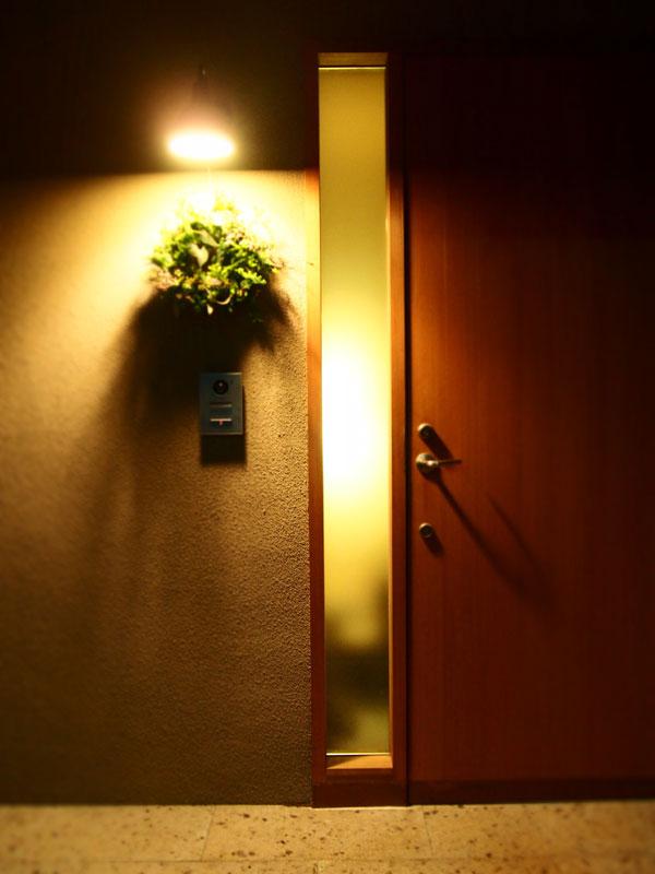 リース玄関